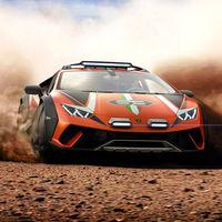 Lamborghini Huracán Sterrato Concept: una bestia de 640 CV que parece lista para el Dakar