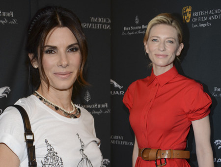 ¿Cate Blanchett o Sandra Bullock en la Tea Party de los Premios Bafta?