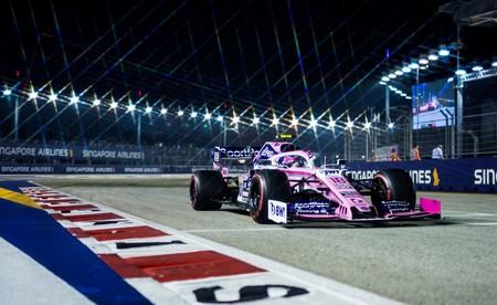 Stroll Singapur F1 2019