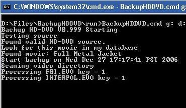 BackupHDDVD, se comprueba su funcionamiento y se descifran películas en HD-DVD