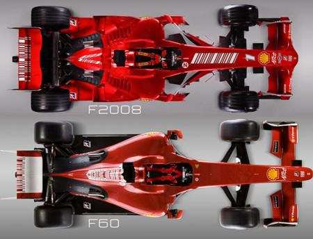 Ferrari F60 F2008 Top