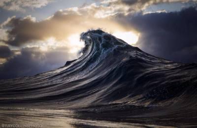 """""""Found at sea"""", Ray Collins esculpe las olas con sus fotografías"""