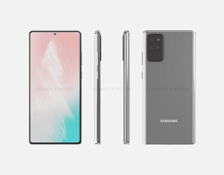Samsung Galaxy Note 20 Renders S Pen