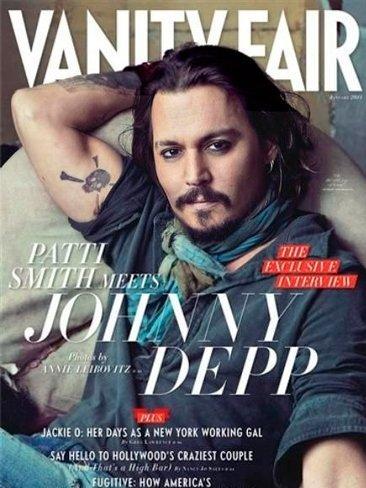 Johnny Depp, cómo me puedes gustar tanto en Vanity Fair