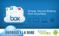 Android en la nube: Box