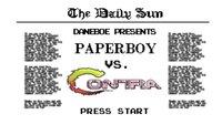 'Contra vs. Paperboy'. Daneboe ataca de nuevo con otro vídeo sobre un fenomenal e imposible crossover retro