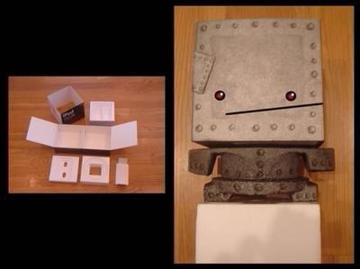 Construye un robot con la caja de tu iPod