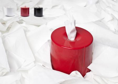 Tobo: por fin el rollo de papel higiénico sobre la mesa es estético
