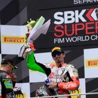 Max Biaggi valora el podio de Sepang como un logro increíble