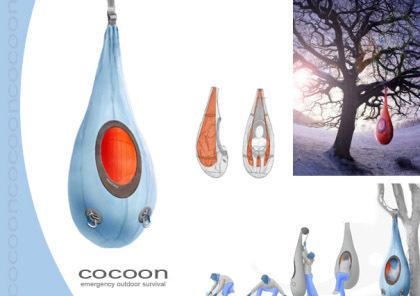 Cocoon: nuevo concepto de tienda de campaña