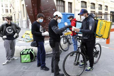 El Gobierno no permitirá que los 'riders' de plataformas de reparto de comida sigan siendo falsos autónomos