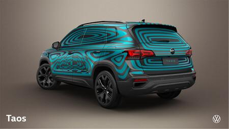 Volkswagen Taos Mexico Teaser 2