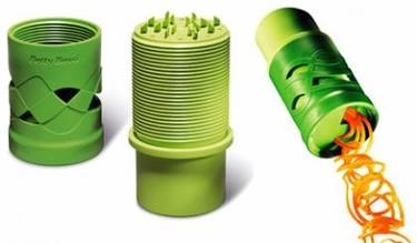 Vegetable twister para hacer espirales de vegetales