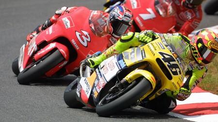 Rossi Biaggi Australia 500cc 2001