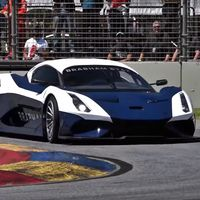 ¡Excesivo! El sonido del Brabham BT62 rodando en circuito es lo más bestia que vas a escuchar hoy