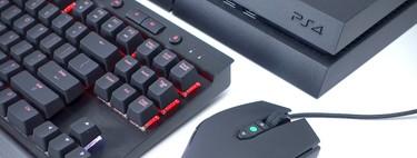 ¿Voy a tener que aprender a jugar (bien) con ratón y teclado... en consola?