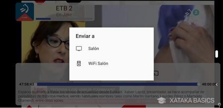 Enviar A Chromecast
