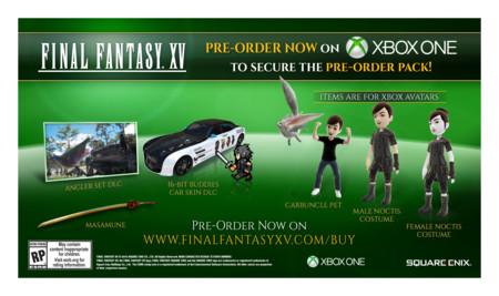 Final Fantasy Xv Reserva Xbox One