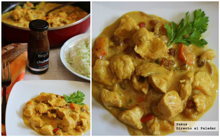 pollo al curry korma