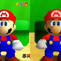 Las versiones de Nintendo 64 y Nintendo Switch de Super Mario 64 cara a cara en un vídeo comparativo