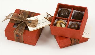 Knipschildt: lujosos chocolates Peeking (II)