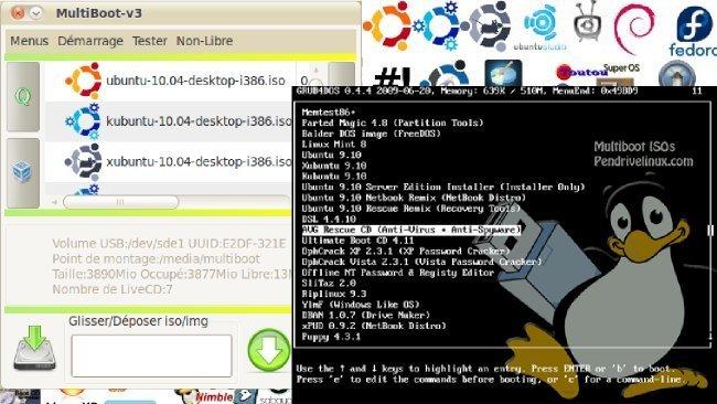 Crea memorias USB multiarranque desde Windows y Linux