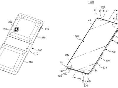 Samsung obtiene patente para un smartphone que se dobla