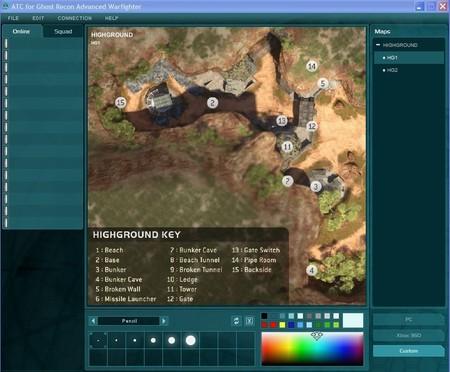 GRAW ATC con los mapas de Halo 3