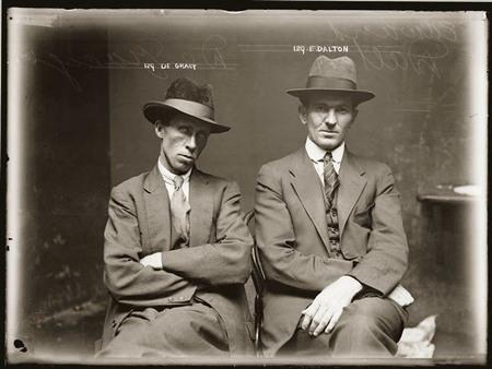 Delicuentes de los años 20 por la Policía de Sidney: curiosos retratos con historia