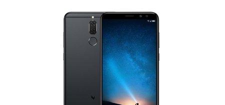 Huawei Mate 10 Lite, no es tan potente pero tiene una doble cámara frontal para hacer mejores selfies