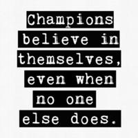 Motivación y deporte: cree en ti mismo, ya eres un campeón
