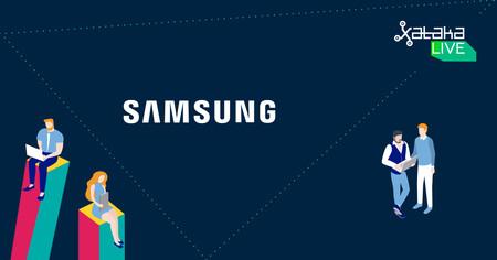 Samsung, tecnología y educación en Xataka Live 2018