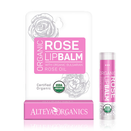Rose Lip Balm De Alteya Organics