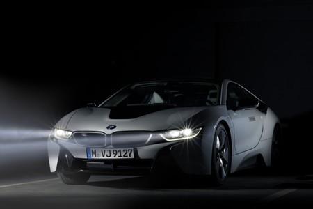 BMW i8 luces láser