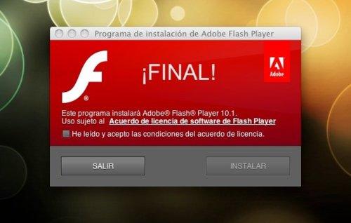 AdobelanzalaversiónfinaldeFlashPlayer10.1