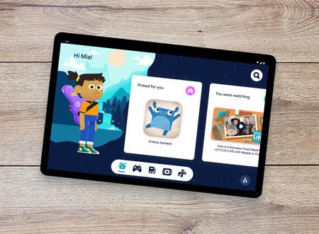Google presenta 'Kids Space', un espacio lleno de libros, juegos, vídeos y más contenido infantil para tablets Android