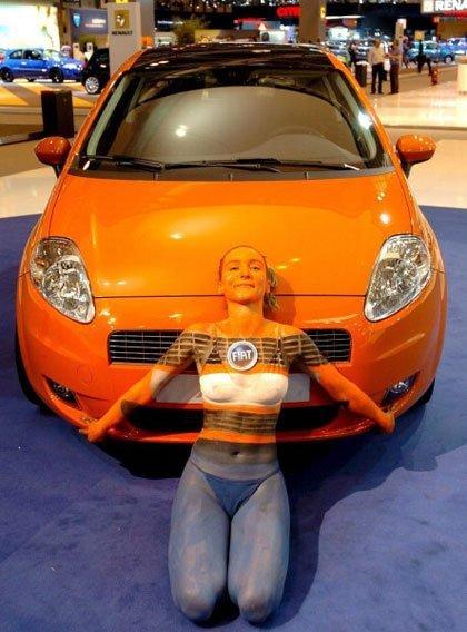 El Fiat Grande Punto en el Salón de Madrid