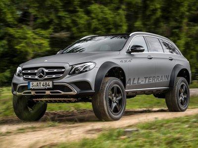 El Mercedes-Benz Clase E All Terrain 4x4² es la prueba de que la locura es contagiosa