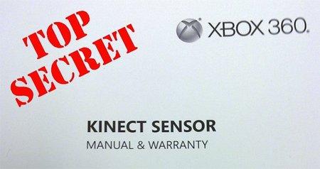 El manual de Kinect filtrado: requisitos de espacio, energía, etc.