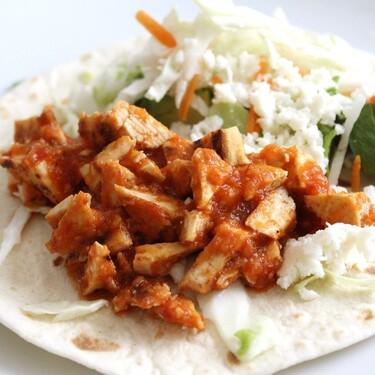 Carnitas vegetarianas de setas. Recetas fácil para este lunes sin carne