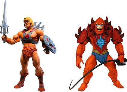 Muñecos de He-Man y los Masters del Universo