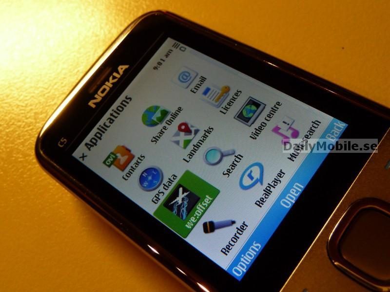 Foto de Nokia C5 (6/10)