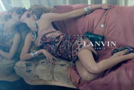 Lanvin, campaña Primavera-Verano 2009 por Steven Meisel con Iselin Steiro