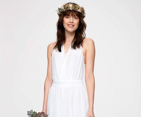 88b7e0572 El vestido de novia súper  low cost  y que puedes plantar lo firma Kiabi