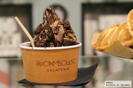 Visitamos Rocambolesc, la heladería de los hermanos Roca