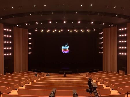 Interior del Steve Jobs Theater, en Septiembre de 2019