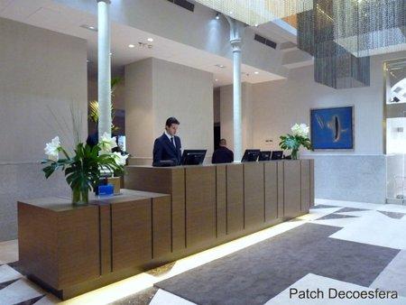 El lobby del hotel NH Palacio de Tepa en Madrid
