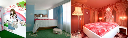 Los diez mejores hoteles con habitaciones temáticas del mundo