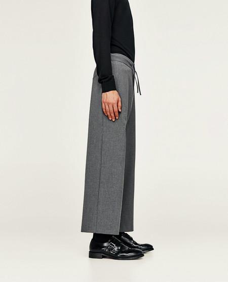 Te Atreves Con Los Pantalones Anchos Y Tobilleros De Zara