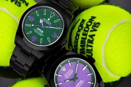 Bamford Watch Department presenta un ¿Rolex? edición Wimbledon